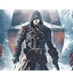 Fotomontagem de Assassins Creed para colocar seu rosto no
