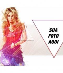 Fotomontagem para colocar sua foto ao lado de Shakira