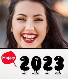 Cartão online para felicitar o novo ano 2021