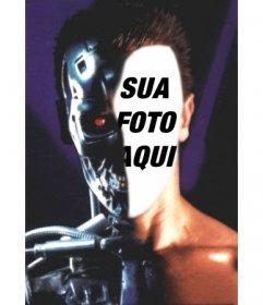 Fotomontagem para colocar seu rosto em Terminator