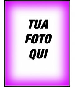 Fotomontaggio, inserire un bordo o una cornice rosa sfumato. Per decorare le vostre foto. Vedere le altre fotomontaggi gratis in questa pagina. Ottenere una finitura professionale in un semplice e gratuito