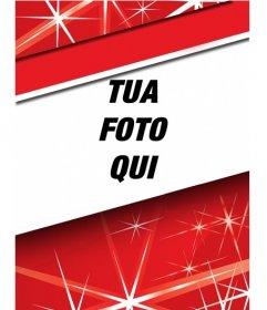 Evidenziare la foto del profilo questo Natale con la cornice rossa