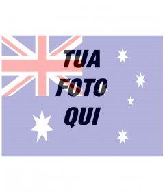 Bandiera australiana da mettere sulla tua foto online