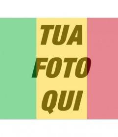 Bandiera del Mali a mettere nel proprio profilo foto