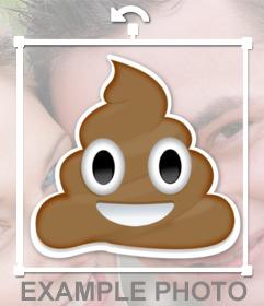 Emoticon di smiley whatsapp poo