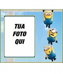 Photo frame di tre servitori