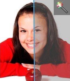 Foto filtro per aggiungere contrasto alle immagini da questa pagina, senza dover scaricare un editor di grafica. Carica la tua foto e si può facilmente modificare