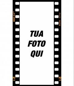 Filtri a telaio in pellicola per storie di instagram