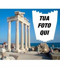 Cartolina di Antalya per le vostre foto