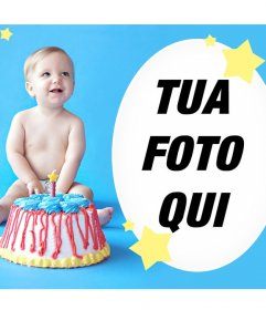 Effetto per augurare un buon compleanno a un bambino