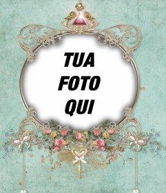 Esotici cornice che è possibile modificare con foto e usarlo come immagine del profilo