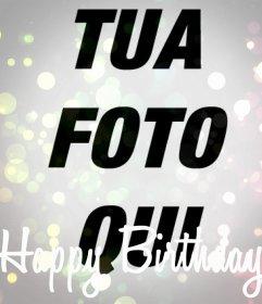 Buon Compleanno filtrare la tua foto