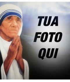 Effetto Foto di Madre Teresa di Calcutta per la tua foto