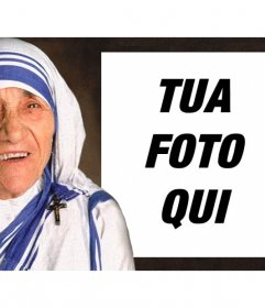 Effetto Foto di Madre Teresa di Calcutta a caricare la tua foto