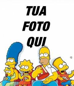 Effetto Foto di The Simpsons per caricare la tua foto