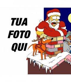 Natale effetto dei Simpson foto di caricare una foto
