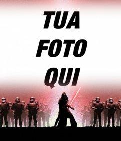 Effetto Foto di Star Wars 7 per caricare le foto