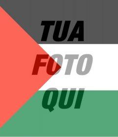 Filtro della Palestina bandiera da mettere nella foto