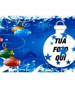 Coprire foto Facebook con palle di Natale