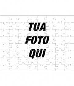 Fotomontaggio per trasformare la tua foto in un puzzle
