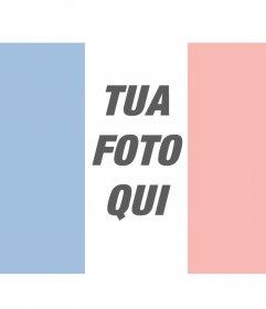 Fotomontaggi con la bandiera francese nella tua foto