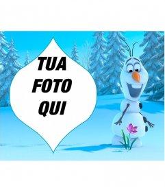 Collage di Olaf da congelato