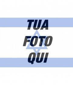 Bandiera di Israele da inserire nella foto del tuo profilo