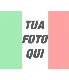 Bandiera d'Italia fotomontaggi online