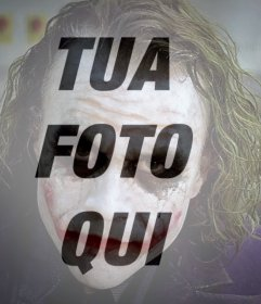 Filtro Joker per la tua foto online