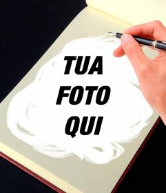 Fotomontaggio un album da disegno per trasformare le tue foto in opere darte