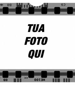 Frame libero per le immagini di una pellicola