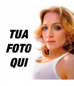 Si consiglia di mettere una foto di voi accanto a Madonna, ora è possibile con questo fotomontaggio