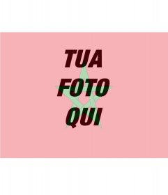 Foto montaggio di mettere la bandiera del Marocco con la tua foto
