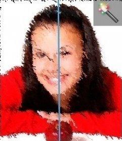 Filtro effetto immagini pittura ad olio on-line per le foto