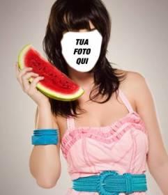 Diventa Katy Perry con questo fotomontaggio da modificare per