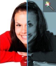 Effetto filtro in plastica per le foto senza Photoshop