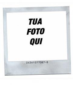Cornice per foto stile polaroid