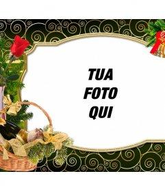 Cartolina di Natale per personalizzare con la tua foto