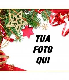 Quadro per dare un tocco di Natale per le vostre immagini per