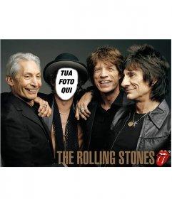 Fotomontaggio dei Rolling Stones per personificare con la tua foto
