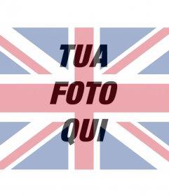 Filtro di bandiera del Regno Unito per sovrapporre sulla tua foto
