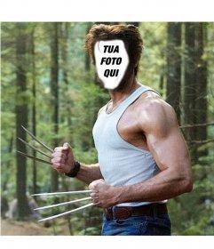 Diventa in Wolverine dal film X-Men con questo montaggio corpo interruttore