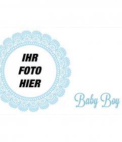 Post Marco, um die Geburt eines Kindes zu gratulieren
