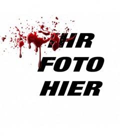 Foto Online-Effekt in Ihren Fotos frisches Blut Kraft zu setzen