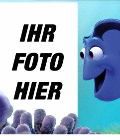 Anpassbare Effekt mit Dory von Findet Nemo
