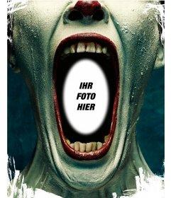 Fotomontage von Twisty von American Horror Story