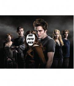 Legen Sie das Gesicht, das Sie in den Körper von Bella wollen, die Hauptfigur in der Dämmerung