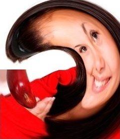 Foto Effekt Spherize Fotos online