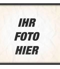 Filter-Effekte für Fotos von alten Papier online