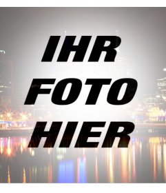 Ihre Fotos mit einem Filter einer Stadt, um ihm einen originellen Stil Ihr Foto dieser Effekt